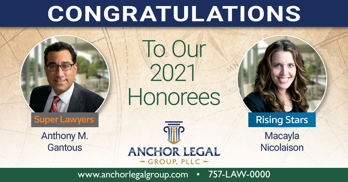 Anchor Legal Group, PLLC 2021 Super Lawyers and Rising Stars